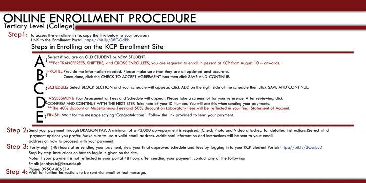 online_enrollment_procedure